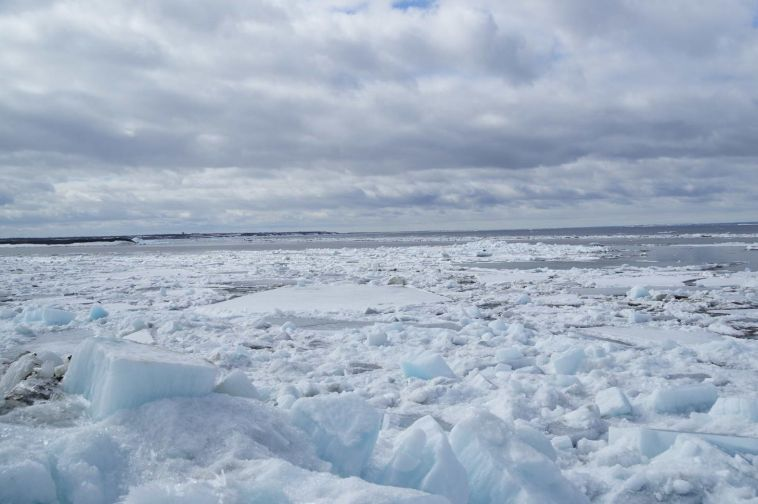 """Ледокол """"Таймыр"""" проложит дополнительные ледовые каналы от Дудинки до островов Ситковских"""