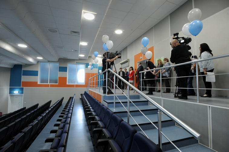 """Новый культурно-спортивный комплекс открылся для работников """"Норникеля"""""""