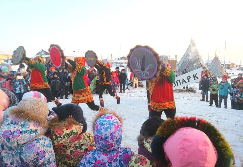 В таймырском поселке Носок открылся этнопарк «Едэй яля»