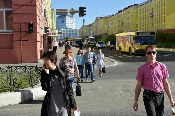 Главная улица Норильска несколько дней будет пешеходной