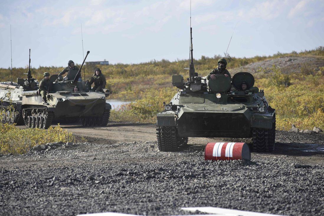 Минобороны высадит войска на Таймыре