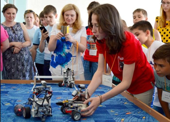 Соревнования по робототехнике состоялись в Норильске