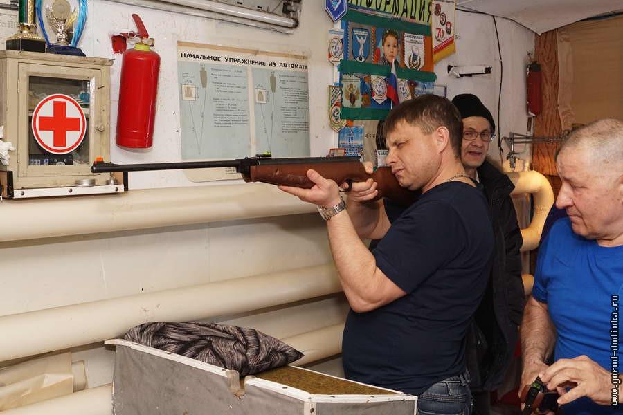 Самых метких стрелков определили в Дудинке ко Дню Победы