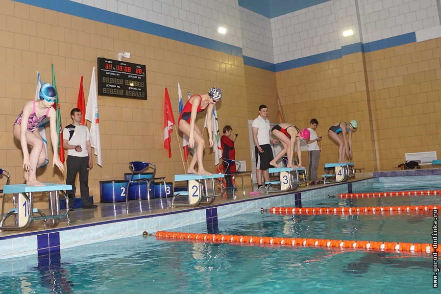 Спортсмены из Кайеркана заняли призовые места на открытом чемпионате Дудинки по плаванию