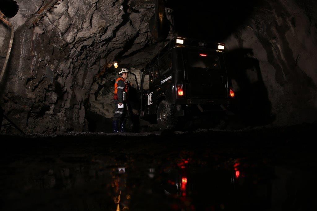 """""""Норникель"""" повышает безопасность подземных работ на руднике """"Северный"""" Кольской ГМК"""