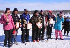 Жители Хатанги приняли участие в лыжных забегах, посвященных Великой Победе
