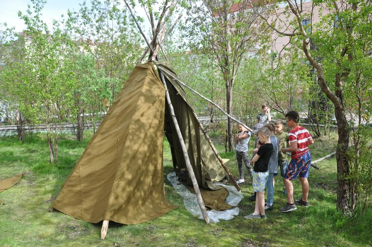Детский этнический лагерь откроется в Норильске