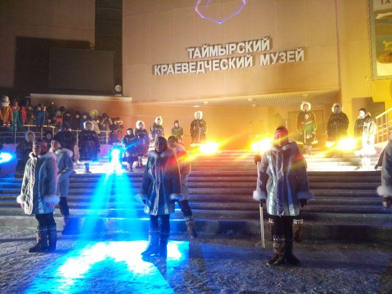 """""""Большой Аргиш"""" стартовал на площадке Таймырского краеведческого музея"""
