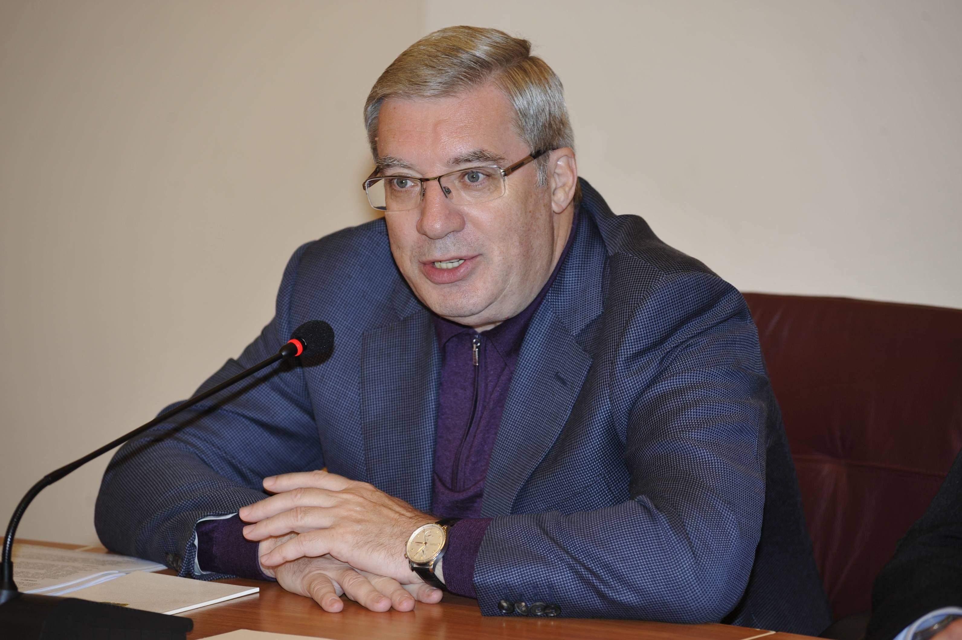 Губернатор края Виктор Толоконский находится в рабочей поездке на Таймыре