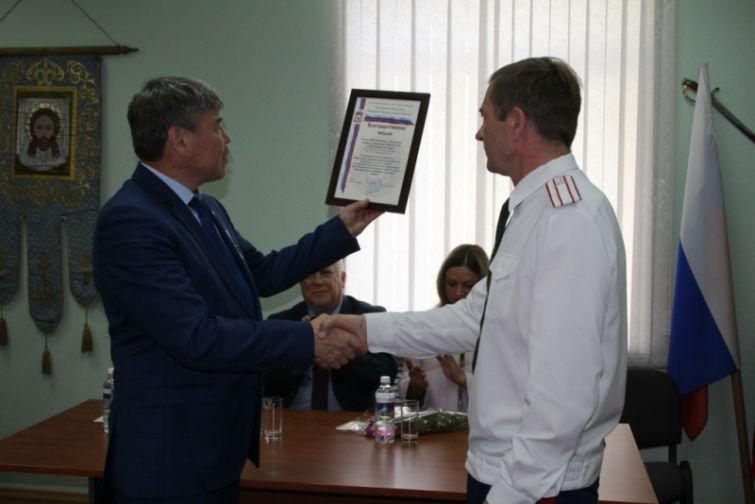 Норильские казаки поблагодарили полицейских за совместную работу