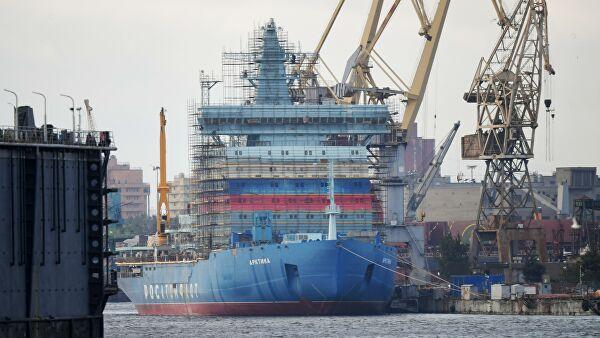 Самый мощный в мире атомный ледокол «Арктика» готовят к испытаниям