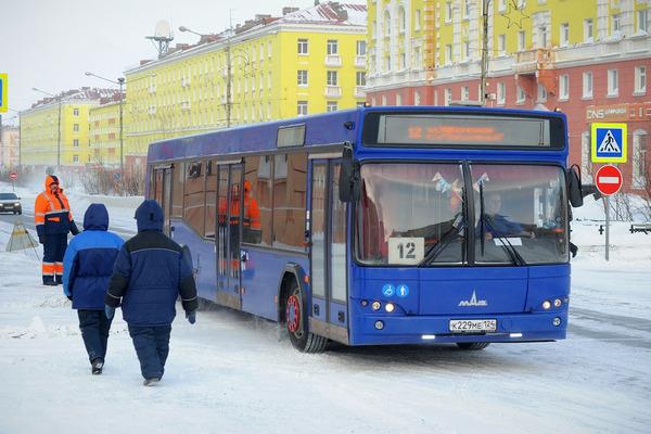 Стоимость проезда в автобусе в Норильске поднимется до 30 рублей
