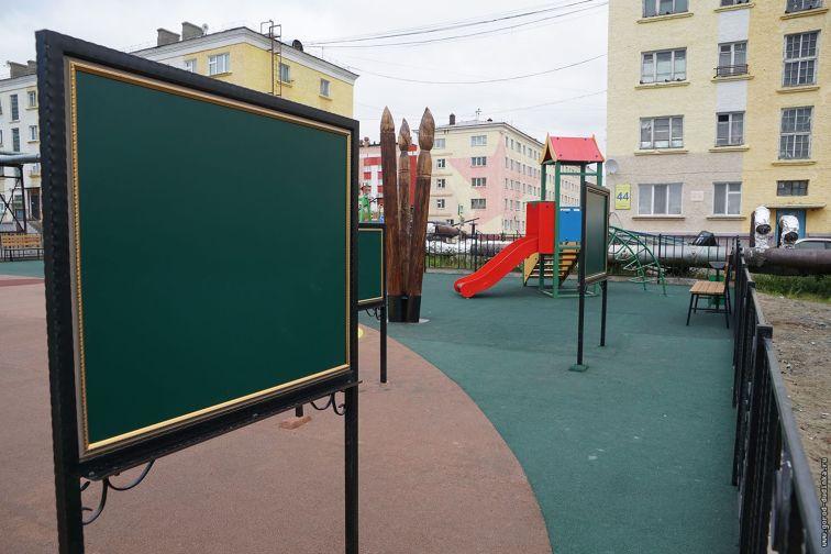 """В Дудинке откроют детскую площадку """"Арт-дворик"""""""