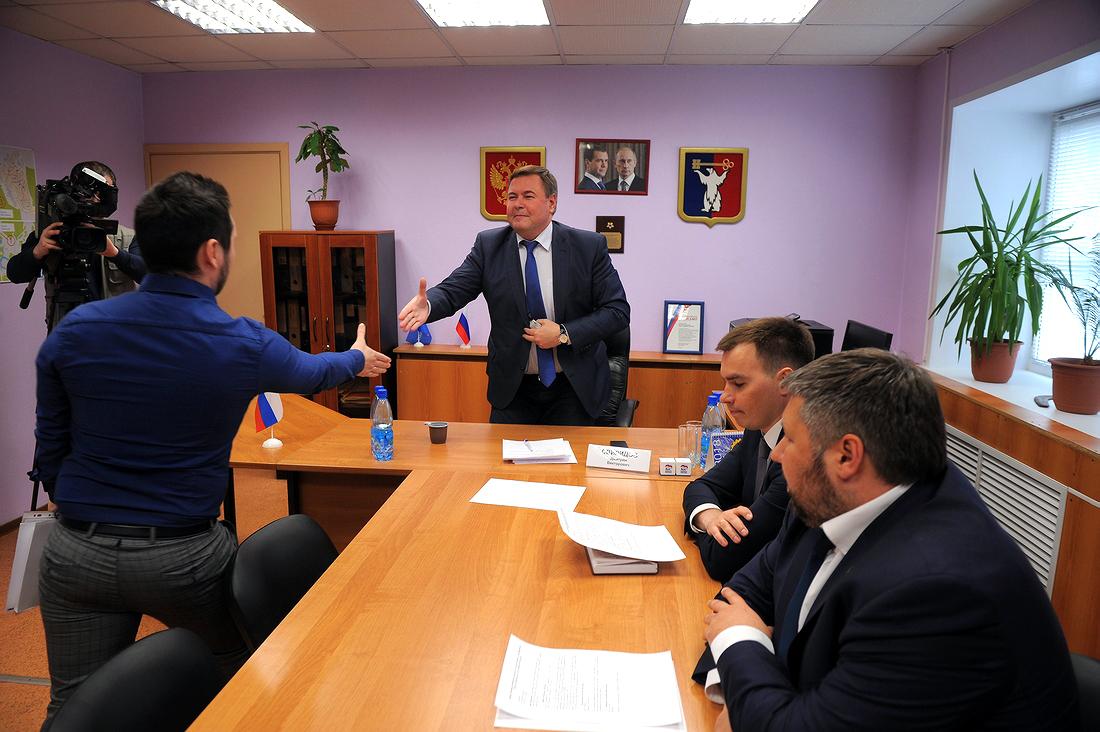 Перспективы строительства жилья обсудил в Норильске спикер краевого Заксобрания