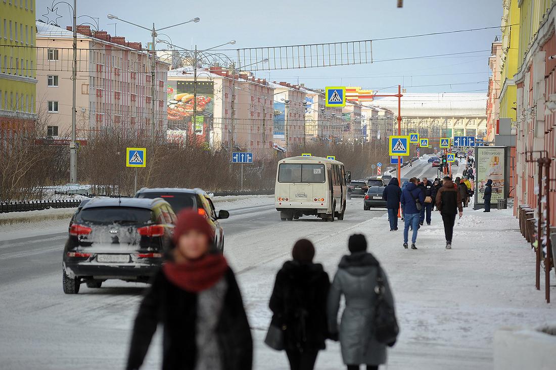Норильск вошел в список благоприятных для проживания городов