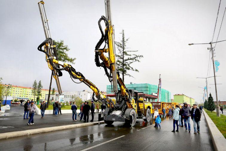 Норильск отметил День шахтера