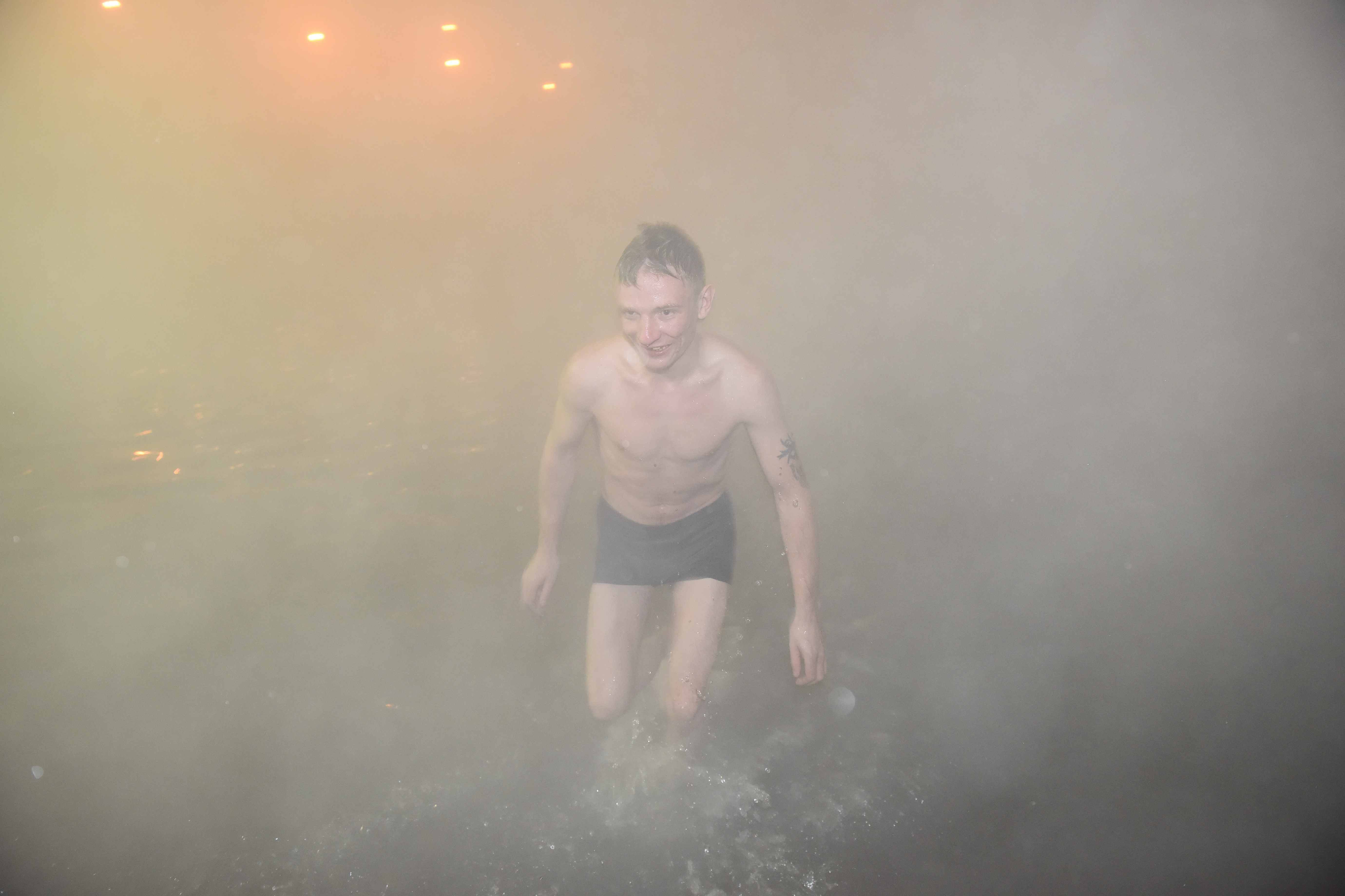 Таймыр готовится к крещенским купаниям