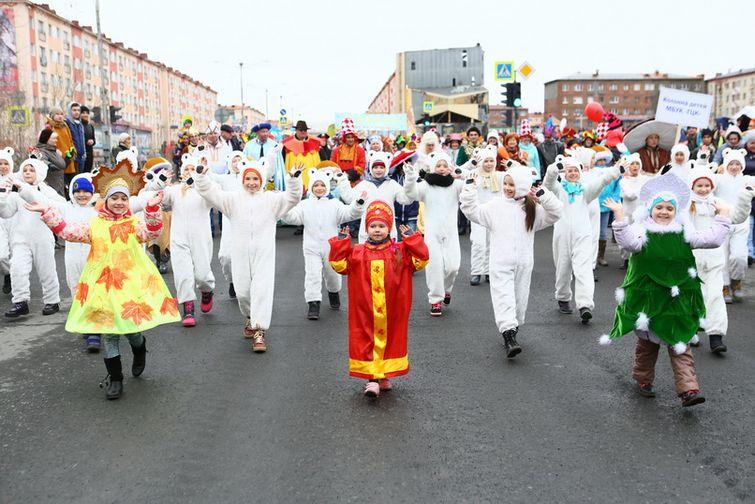 """В День защиты детей в Норильске пройдет """"Чудо-Чадо-Карнавал!"""""""