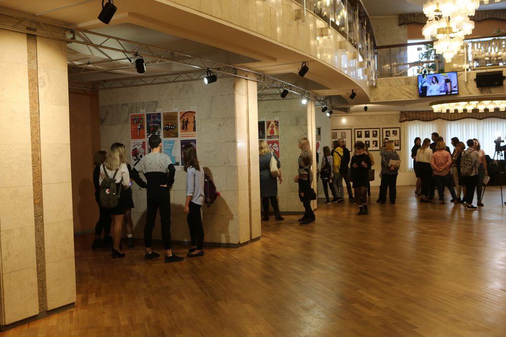 В Норильской драме открылась выставка театрального плаката