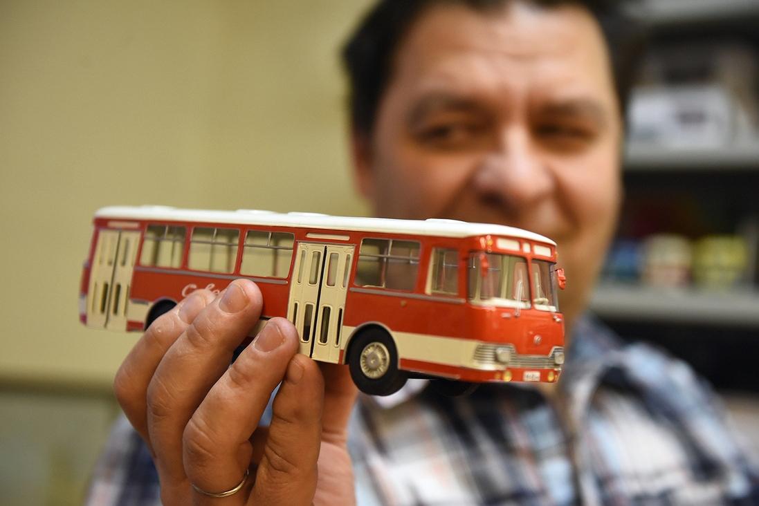 Модели автобусов, ездивших по Норильску с 1940-х годов, представят на выставке «Книга Севера»