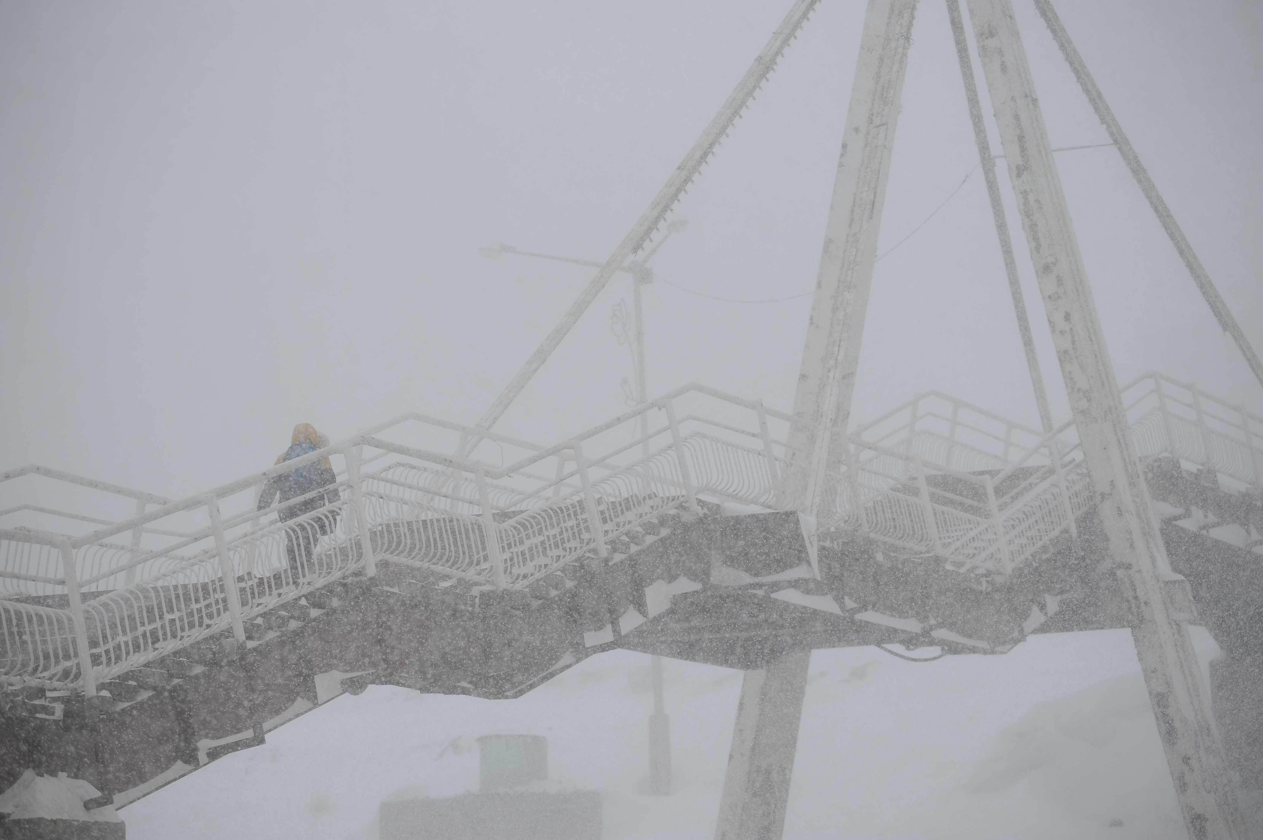 Штормовое предупреждение действует в Норильске