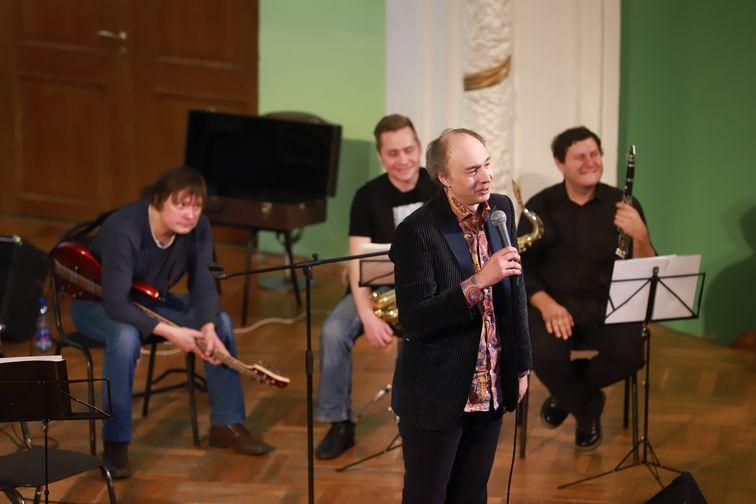 """Творческая встреча с """"Хоронько-Оркестром"""" прошла в Норильском колледже искусств"""