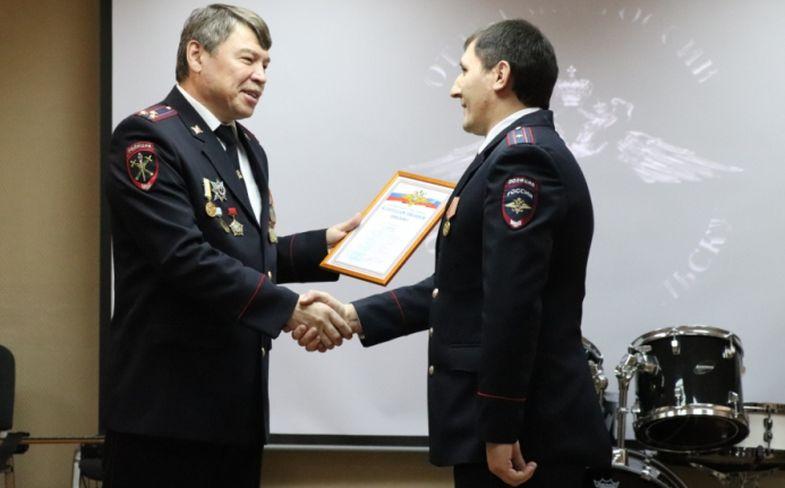 Сотрудники Норильского отдела МВД получили награды и звания