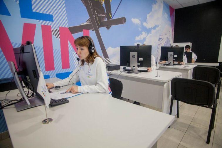 В Красноярске заработал контакт-центр зимней Универсиады – 2019