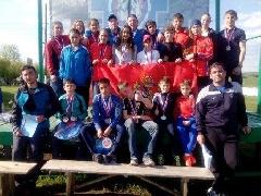 Таймырцы в составе сборной края выиграли всероссийские соревнования по спортивному туризму