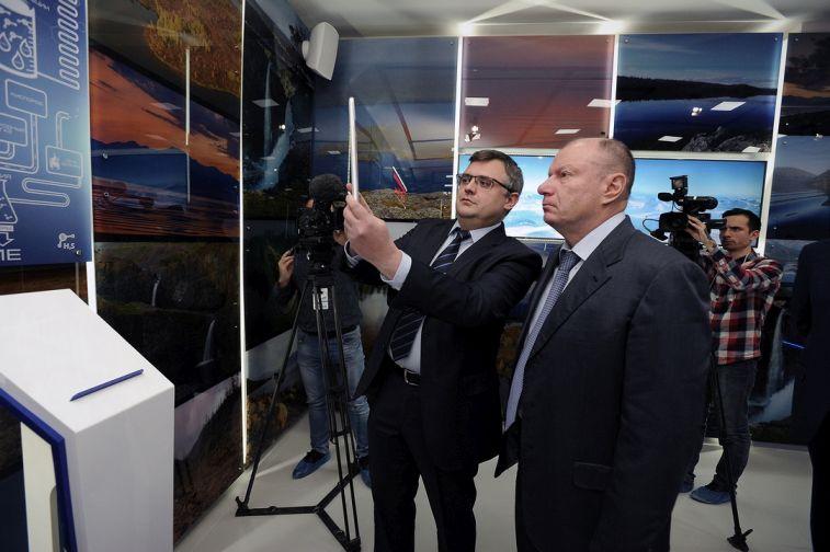 """Владимир Потанин: """"К 2023 году мы полностью будем соответствовать высоким экологическим требованиям"""""""