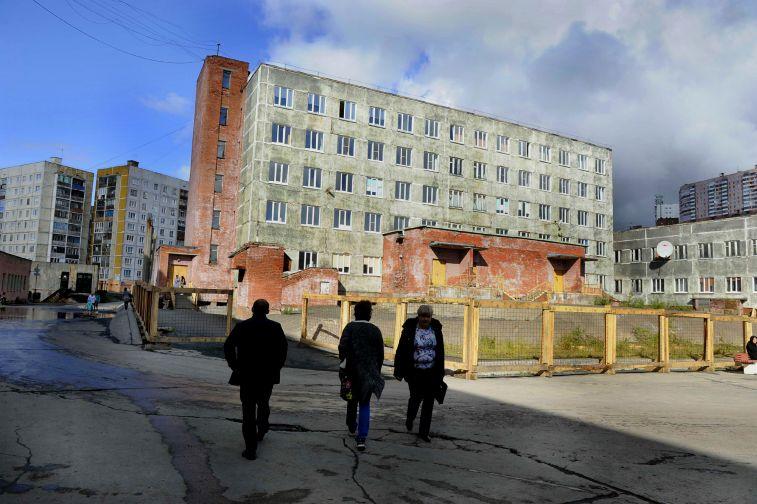 Восстановление здания детской поликлиники в Талнахе не отражается на приеме пациентов