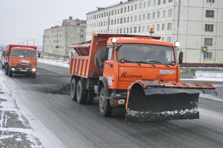 Дорожные службы Норильска готовы к зиме