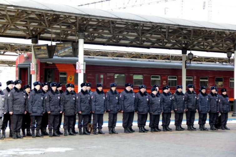 Норильские полицейские в составе краевого сводного отряда отправились в служебную командировку на Северный Кавказ