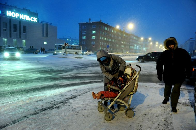 Норильчанам предлагают выбрать территорию для благоустройства