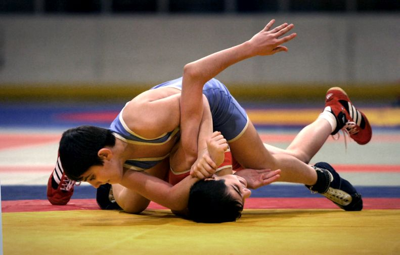 Таймырский борец достойно выступил на всероссийском турнире по греко-римской борьбе