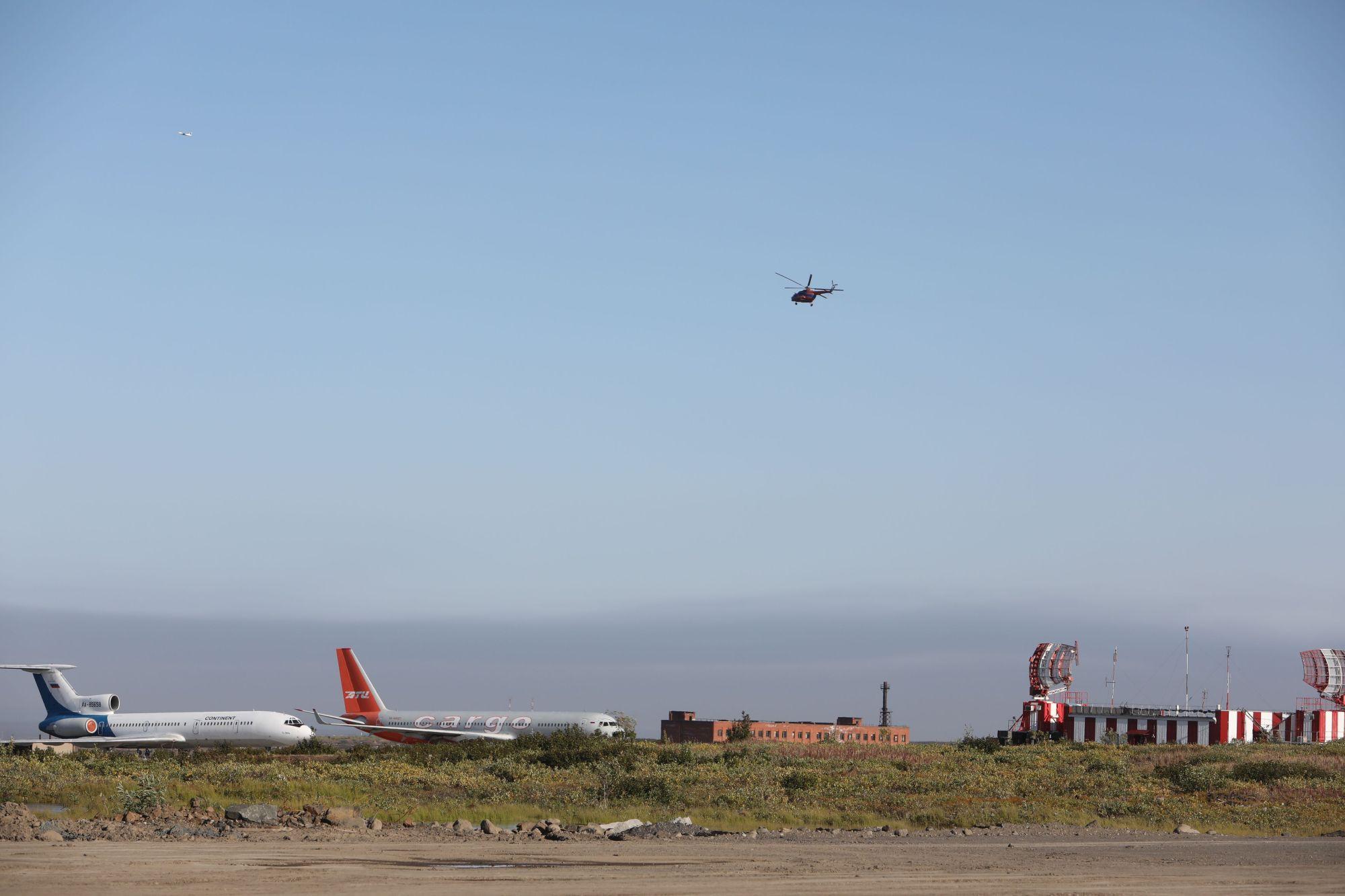 Результаты завершающегося 2-го этапа реконструкции ВПП норильского аэропорта подвели сегодня