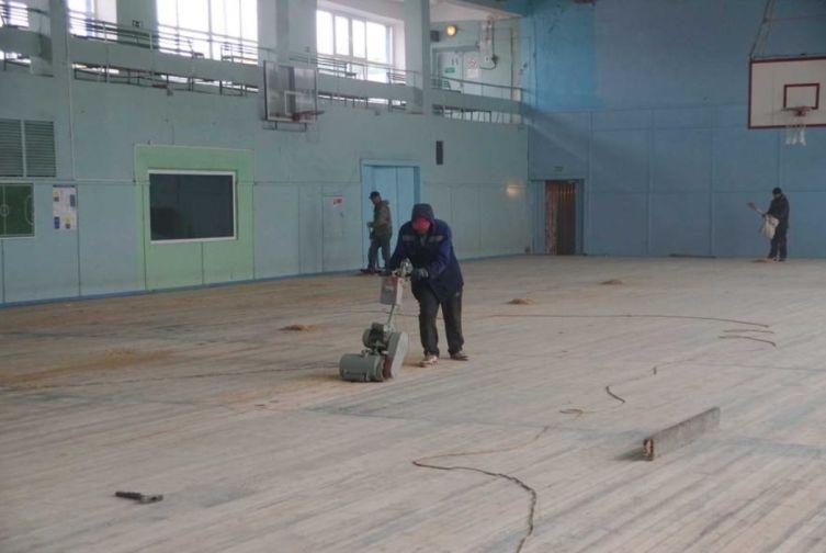 Завершено внешнее обновление здания дудинского дома физкультуры