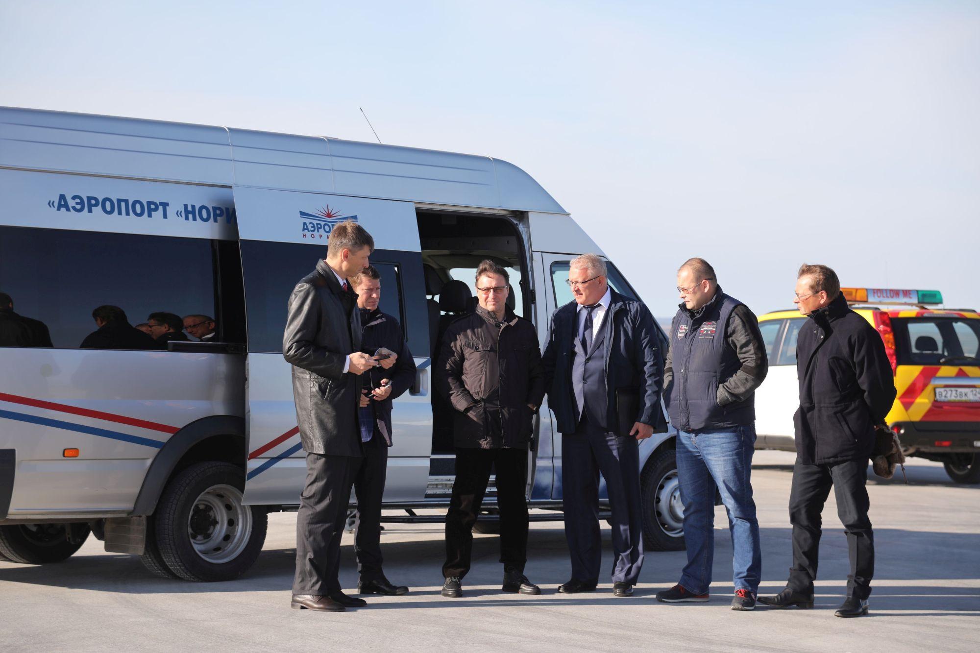 ВНорильске подытожили 2-го этапа реконструкции ВПП аэропорта