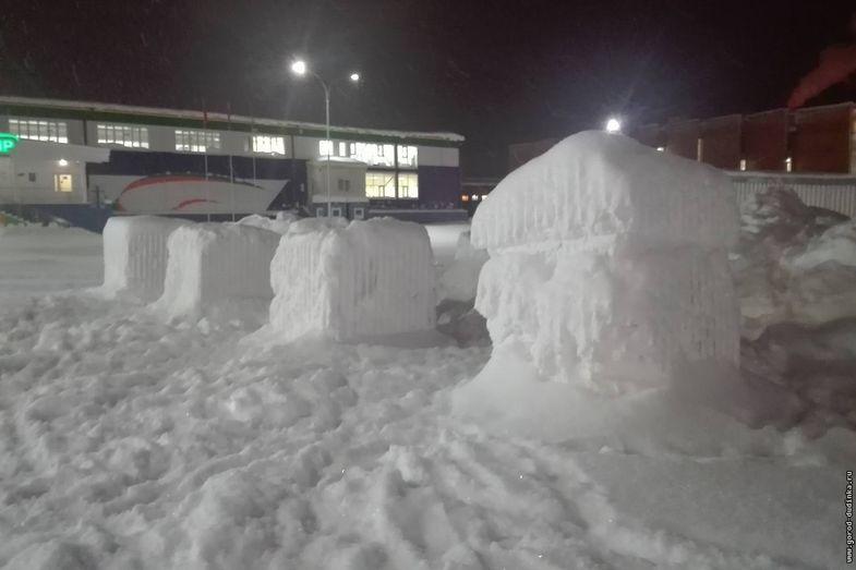 Дудинцев приглашают создать снежные скульптуры