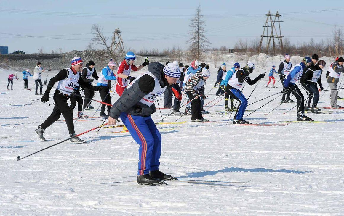 Норильчан зовет «Лыжня «Норникеля»