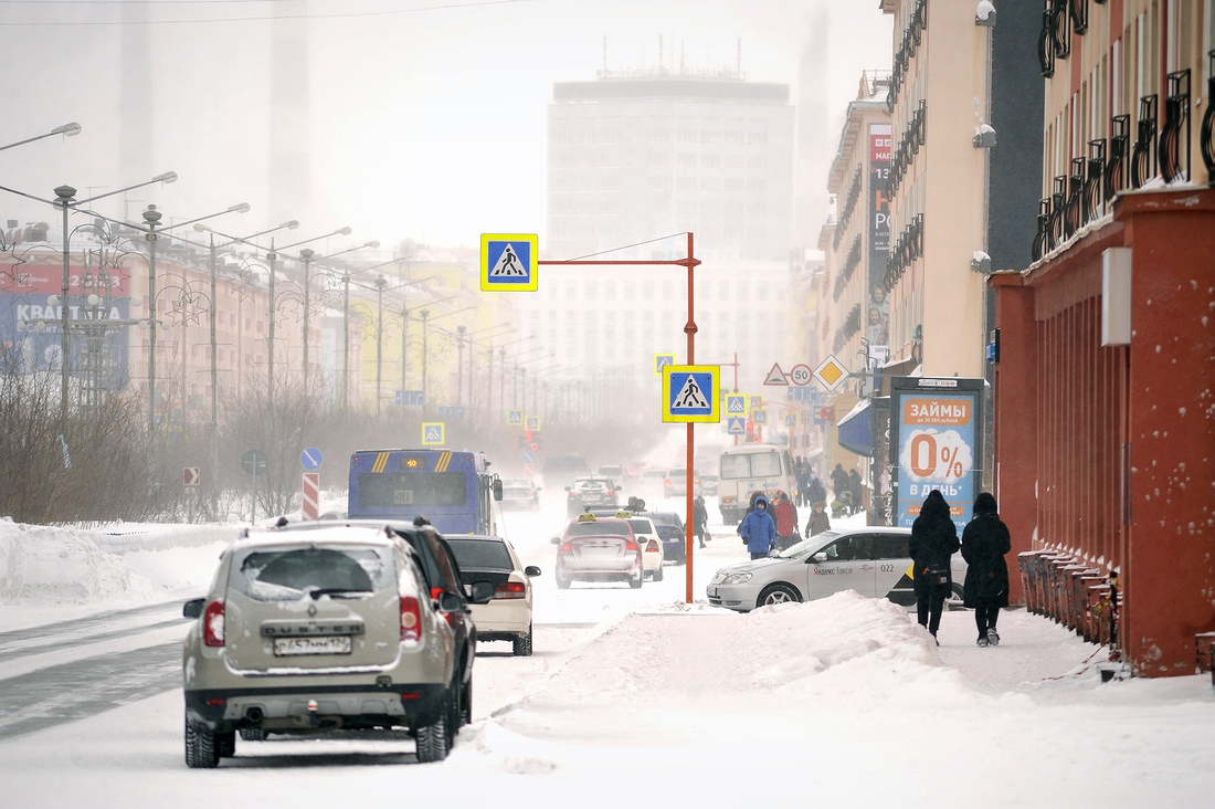 Штормовое предупреждение в Норильске снято
