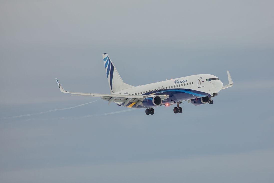 NordStar возобновляет регулярные рейсы из Норильска