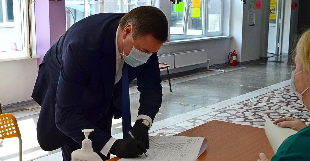 Дмитрий Свиридов: «Норильск не подвел – явка 80 процентов»