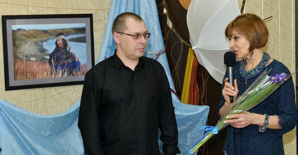 В Дудинке открылась выставка норильского фотографа Андрея Кийко