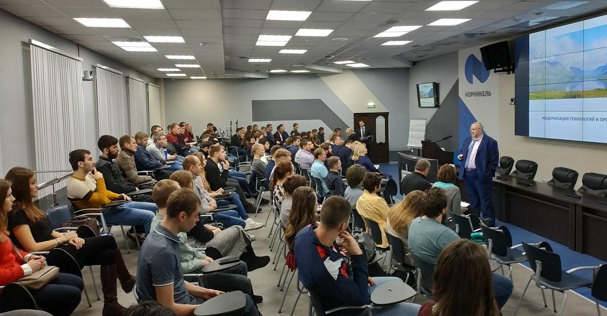 Эксперты и молодые специалисты Заполярного филиала «Норникеля» обсудили инновационные проекты