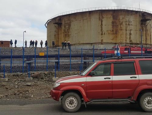 Ликвидация последствий разлива нефтепродуктов на ТЭЦ-3