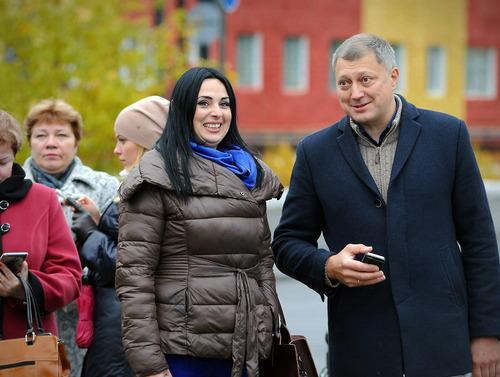 Открытие площади Портовиков в Дудинке