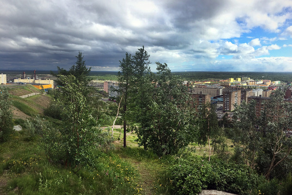 Начавшаяся неделя в Норильске будет теплой, но дождливой