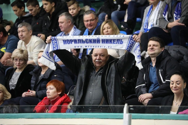 Мини-футбольному клубу «Норильский никель» исполняется 27 лет