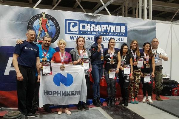 Спортсмены Норильска и Дудинки победили на международных соревнованиях по силовым видам спорта